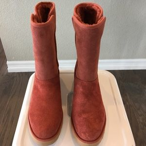 Suede UGG boots